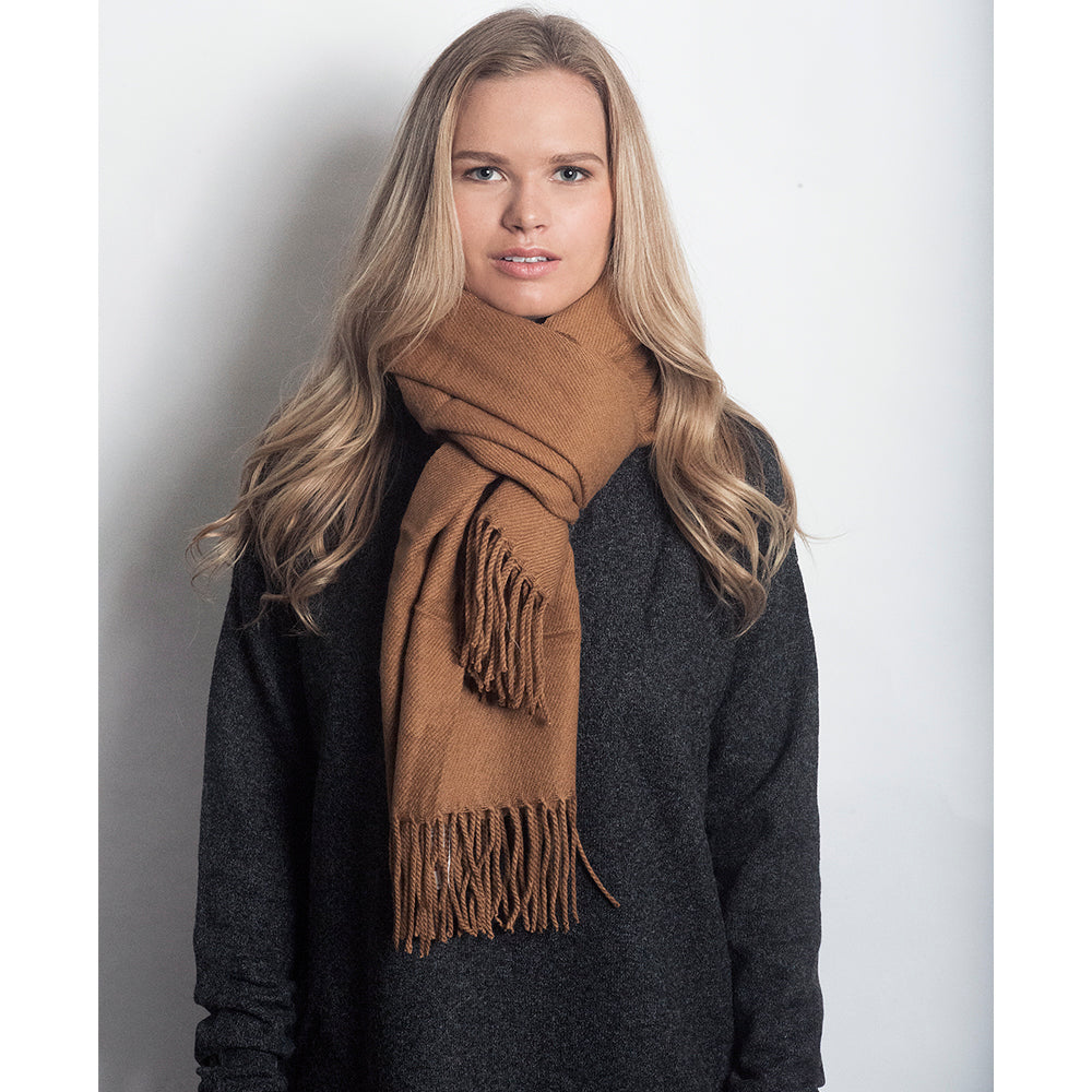 Solid Long Scarf