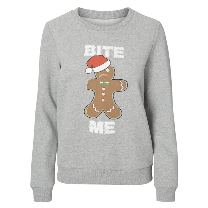 Cookie Christmas Sweatshirt (available in 2 designs)