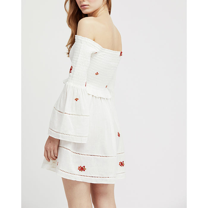 Counting Daisies Embroidery Dress