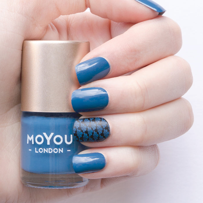 Denim Jeans Nail Polish