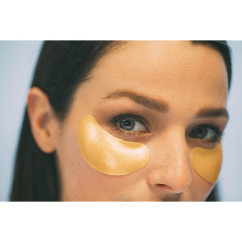 Single Honey + Gold Eye Mask