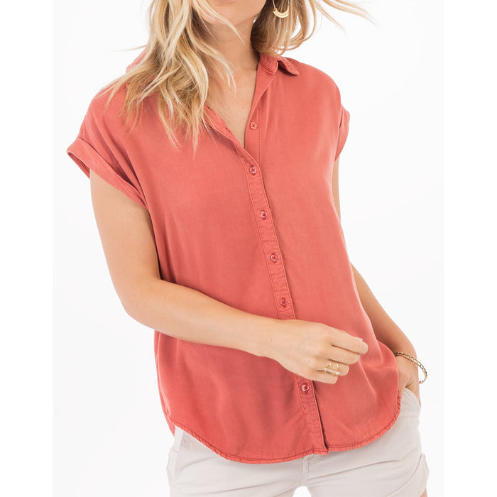 Myrtle Button Up Top