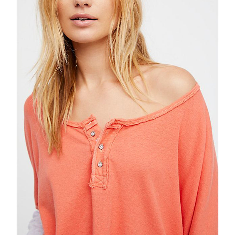 We The Free Star Henley Top