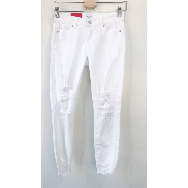 Avery White Denim