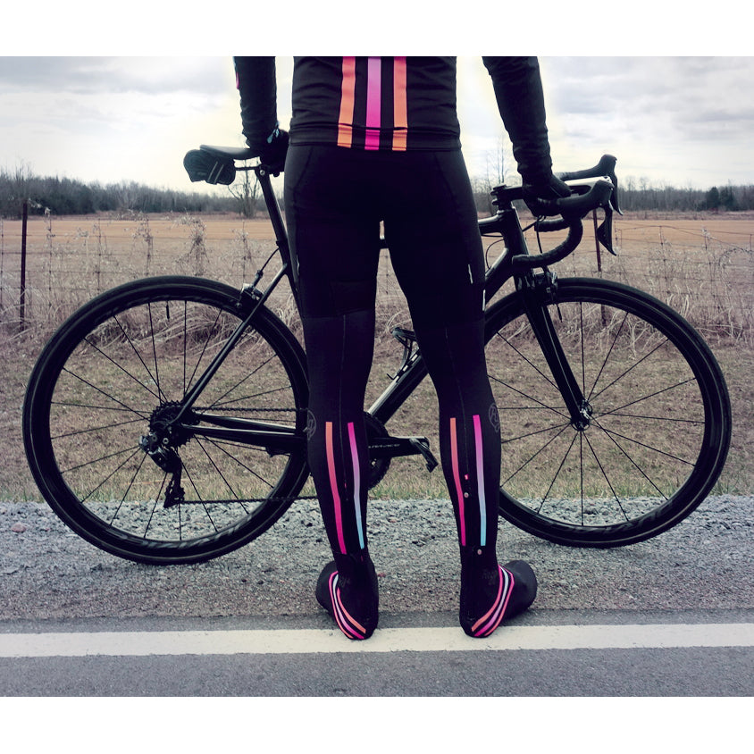 Flashy Black Leg Warmers (Unisex)