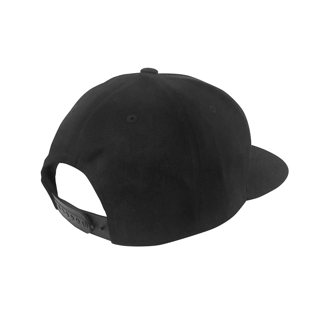 Nice People Ride Bikes Flat Brim Hat