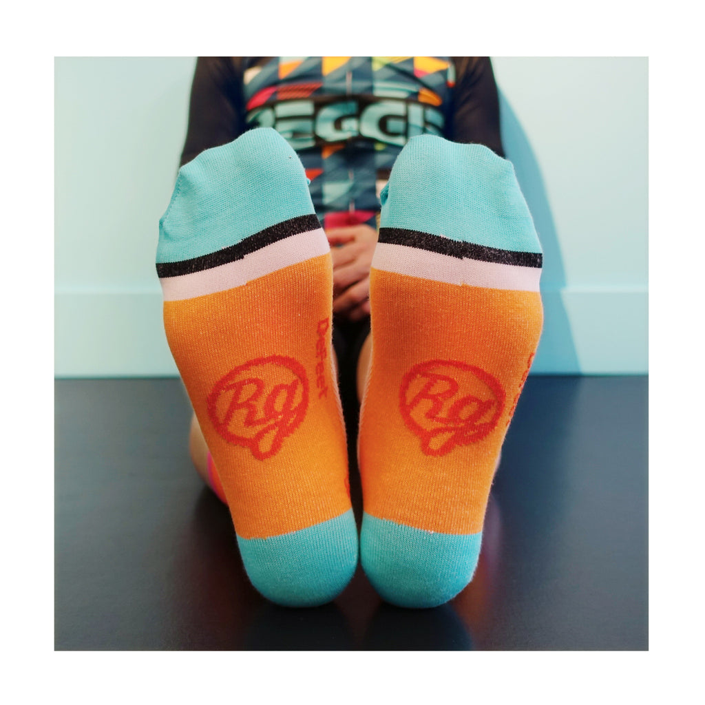 Orange Crush Socks