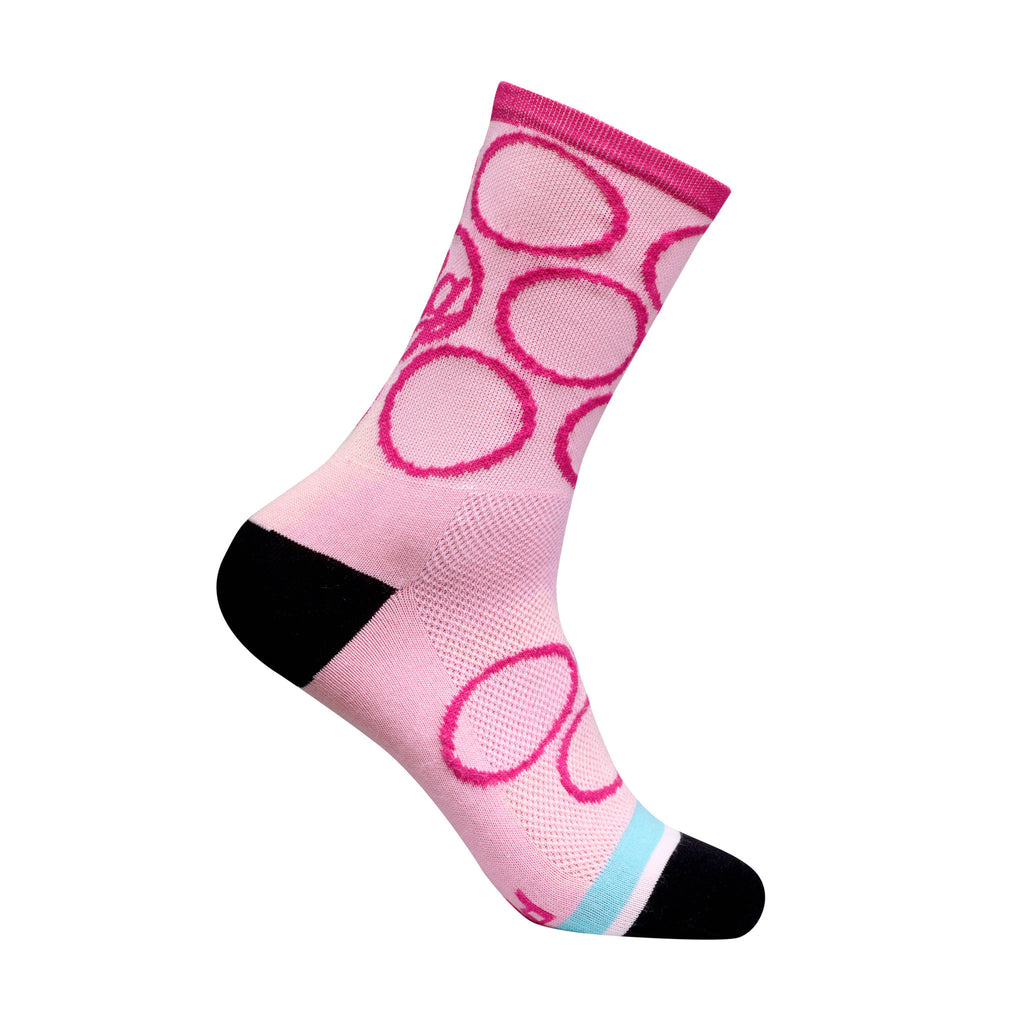 Pink Punch It Socks