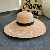 Do Not Disturb Floppy Sun Hat