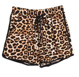 Casual Leopard Print Shorts