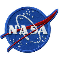NASA Logo Vector Patch 3""