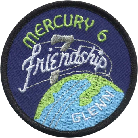 Mercury 6 - Friendship 7 Patch