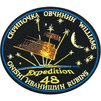 ISS Expedition 48 Crew Patch