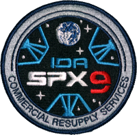 SpaceX CRS 9 Patch