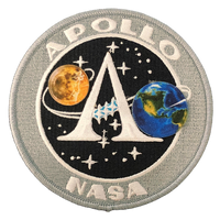 Apollo Program Patch 4""