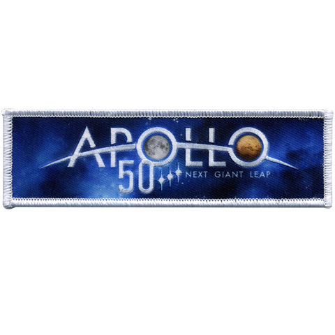Apollo 50th Anniversary Patch