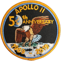 Apollo 11 50th Anniversary v2 Patch