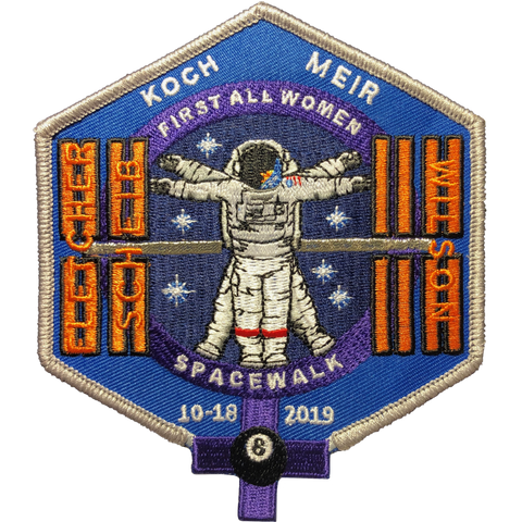 First All Women Space Walk Patch