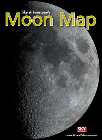 Sky & Telescope Moon Map (Laminated)