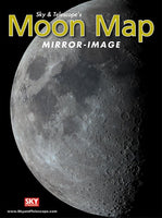 Sky & Telescope Mirror-Image Moon Map (Laminated)
