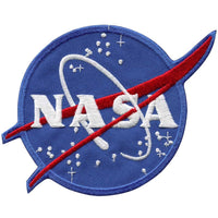NASA Logo Vector Patch 4""