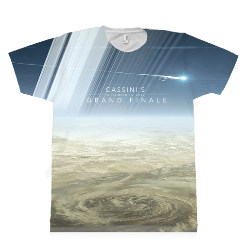 Saturn-Cassini Grand Finale T-shirt