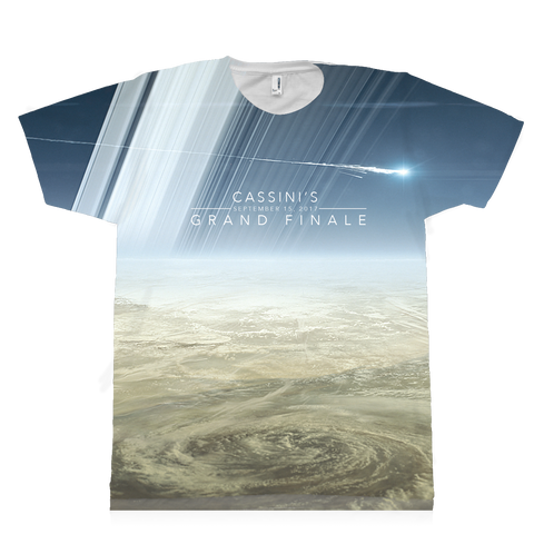 T-shirt - Cassini Saturn