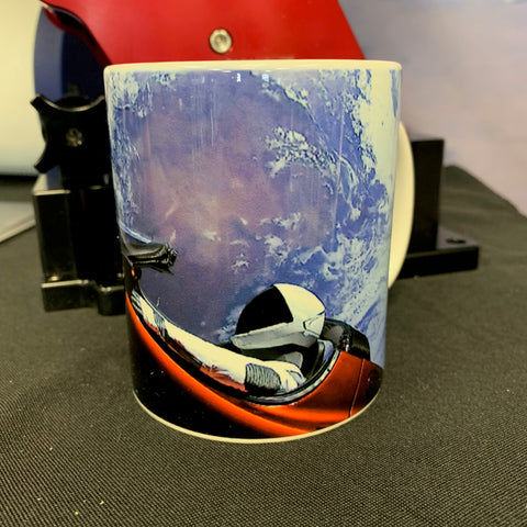 SpaceX Starman Mug