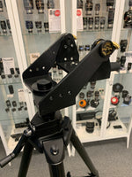 Used Tele-Pod Mount Head on Manfrotto midweight Tripod