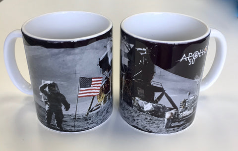 Apollo 50th Moon Landing Mug