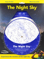 The Night Sky Planisphere 40-50 - Large