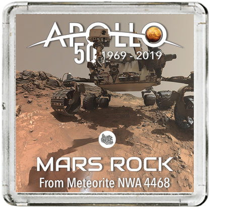 Mars Rock Apollo 50th Meteorite