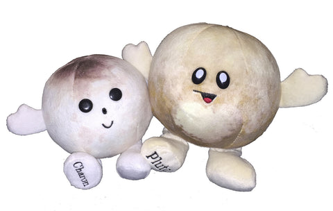 Celestial Buddies Plush Pluto (with Charon)