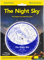 The Night Sky 40°-50°N  Planisphere (Small Plastic)