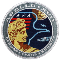 Apollo 17 Official Patch