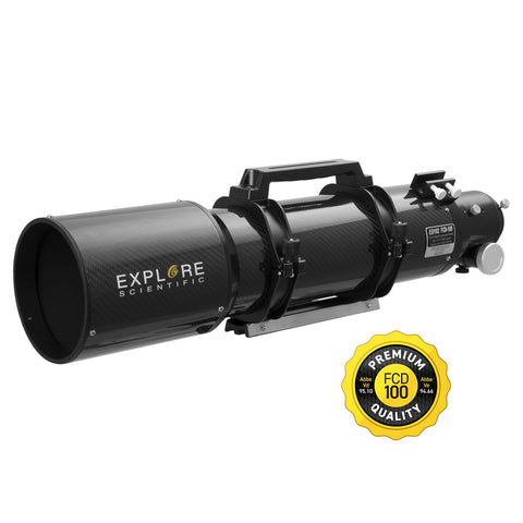 Carbon Fiber ED102 f/7 APO Triplet with Hoya FCD100 optics