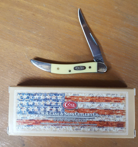 W.R. Case Yellow Small Texas Toothpick 310096 CV