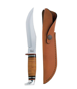 Case Leather Hunter Knife