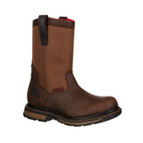ROCKY HAULER WATERPROOF PULL-ON WORK BOOT