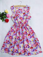 Casual Chiffon Floral Sundress Party Dress