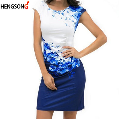 Elegant Office Party  Slim Sheath Dress