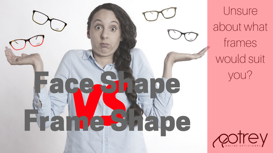 Face shape vs Frame shape