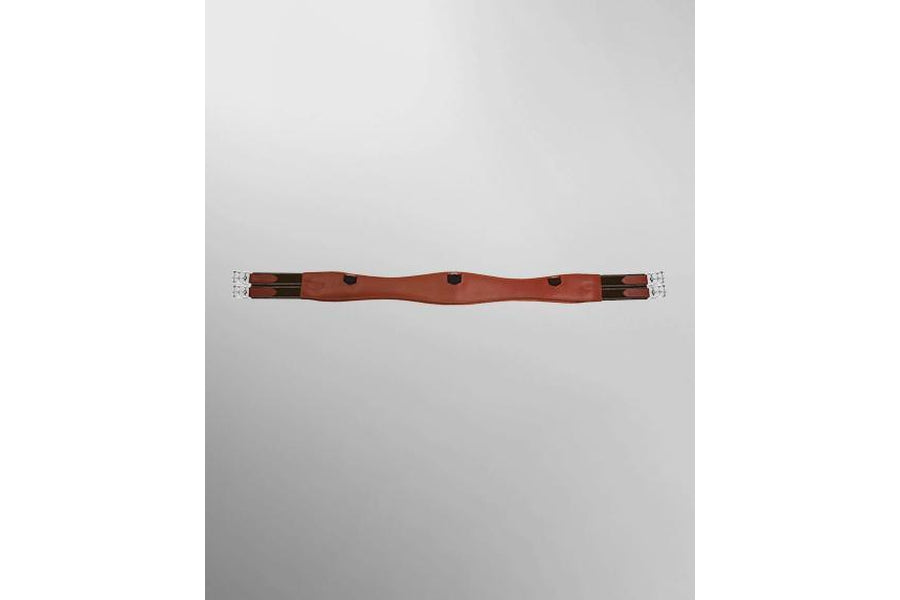 Passier Curved Leather Saddle Girth - Long Style
