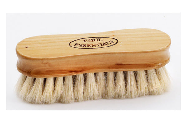 Equi-Essentials Wood Back Face Brush with Goat Hair