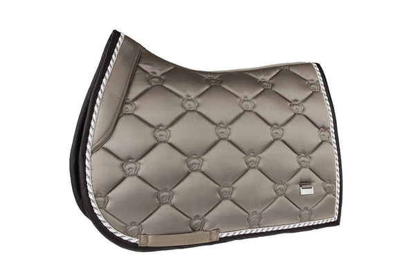PS of Sweden Ice Coffee Monogram Jump Saddle Pad