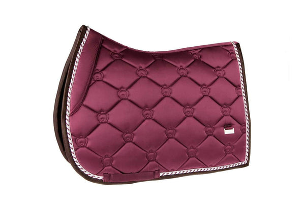 PS of Sweden Merlot Monogram Jump Saddle Pad