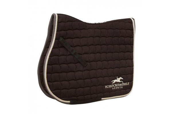 Schockemohle Dynamite Jumping Saddle Pad with Logo