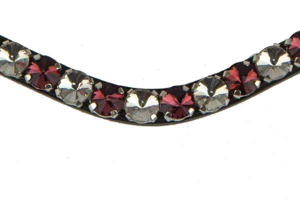 PS of Sweden Browband Bold Crystal Merlot