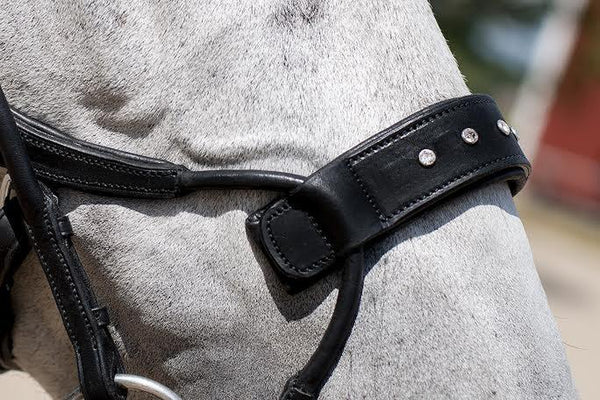 PS of Sweden Noseplate Swarovski to High Jump Bridle