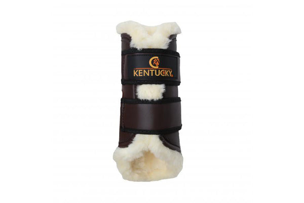 Kentucky Horsewear Turnout Boots Leather Hind
